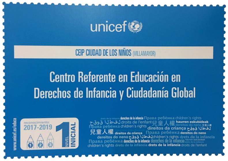 DIPLOMA UNICEF CENTRO REFERENTE 22-11-2017