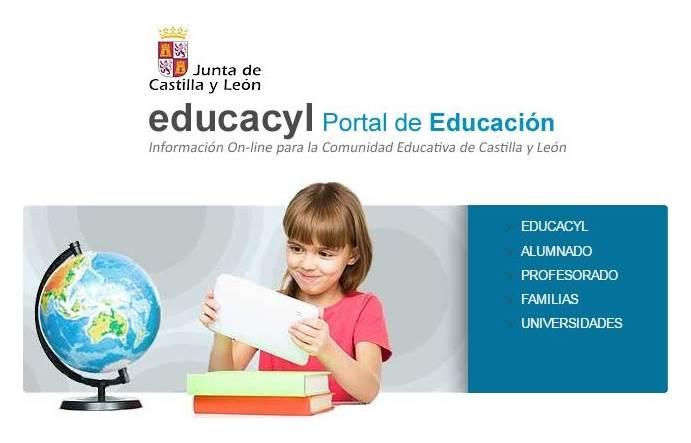 Portal de Educación JCyL EDUCACYL